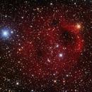 Sh 2-173, The Phantom of the Opera Nebula in HaGB,                                Madratter