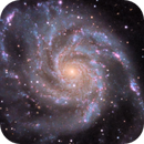 M101  rerun with Topaz tools,                                Jonathan Young