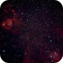 Heart Nebula Region,                                Robin Clark - EAA imager