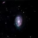 NGC 4725,                                Robert St John