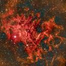 IC405 Flaming Nebula,                                Phil Montgomery