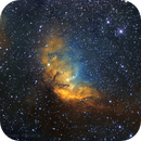 Sh2-101 Tulip Nebula 'Hubble palette',                                PGU (Giuliano Pinazzi)