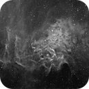 "IC405 (""Flaming star nebula""),                                Daniele Malleo"