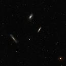 Leo Triplet, M66, M65 and NGC 3628,                                Alan Brunelle