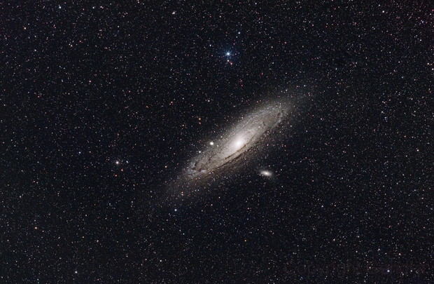 M31 again - FL Eos 200d and EF 200 2.8L,                                Gendra