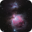 M42, M43 and Sh2-279  - The Orion Nebula and the Running Man Nebula,                                Luc Germain