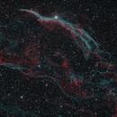NGC 6960  The Western Veil,                                Aaron Hakala