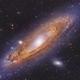 The Andromeda Galaxy,                                Ivan Bok