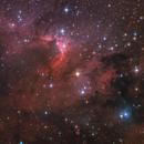 Sh2-155 - Cave Nebula,                                Riccardo Balia
