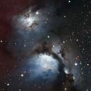 M 78 Emission and Reflection Nebula,                                M.J. Post