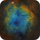 IC1396 in SHO palette,                                Janos Barabas