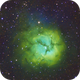 Narrowband Trifid Nebula (M20),                                Scott Iver