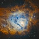 M8 - The Lagoon Nebula false SHO,                                Tommy Lease