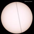 ISS Solar Transit,                                Evan Tsai