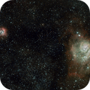 Nebulosas en Sagitario,                                Javier R.