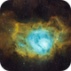 The Lagoon Nebula M8 in SHO,                                Wissam_Astrophoto...