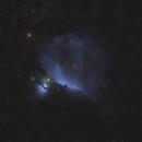 IC 434 Horsehead - M42 Orion 20210313 3960s LOHS 01.5.3,                                Allan Alaoui