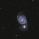 Messier 51,                                apaquette