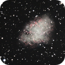 M1 unguided. I had 155 frames at the beginning, but I only could use 43 for a mistake with the heating band... :-(,                                Juan Pablo (Obser...