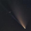 Comet C/2020 F3 Neowise and Iridium Flare,                                Theodore Arampatz...