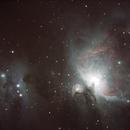 Orion Nebula and Running man,                                Tim Scott