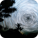 2 hours of Star trails around the South Celestial Pole (16 June 2021),                                KiwiAstro