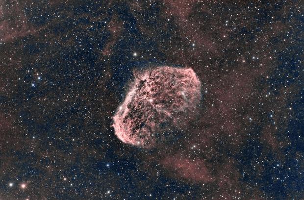 The Crescent Nebula,                                Tertsi