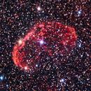 NGC 6888 - Full Moon Crescent,                                Rich Sky