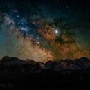 Milky Way over Tatra mountains,                                Piotr Czerski