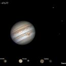 Jupiter 3-Moon Alignment,                                Damien Cannane