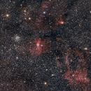 Bubble nebula and friends,                                Scott Sloka
