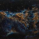 NGC6979 Pickering's Triangle in Hubble Palette,                                Bogdan Jarzyna