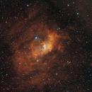 Bubble Nebula,                                Samuel