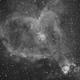 IC 1805 Heart nebula,                                Valentine Treshchun