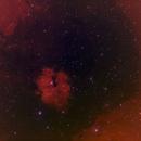 Gum 15 - Southern Trifid - 494mm - 20190409 - HOSRGB (15X900s, 13X900s,12X900s, 57X3X60s),                                Gabe van den Berg