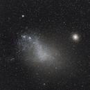Small Magellanic Magellan Galaxy & NGC 104 Globular Cluster,                                Ray Caro
