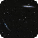 Whale and Hockey Stick Galaxies,                                Hans H.