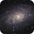 The Triangulum Galaxy - M33,                                Thomas Richter