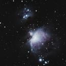 Orion Nebula (M42) and Running Man Nebula (M43),                                Jared Watson
