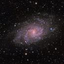 M33 - LRGB,                                Brad