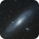Andromeda galaxy M31 F/4.8 80mm,                                Joachim Plocinski