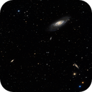 M106 and friends,                                rayp