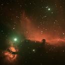 Pferdekopfnebel IC434,                                Michael Rogge