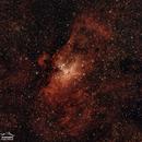 NGC6611 Eagle Nebula,                                Ivan Hancock