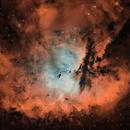 NGC 281 - Pacman Nebula in HOO,                                pete_xl