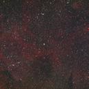 Widefield Crescent Nebula - HaLRGB,                                Andrew Burwell