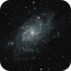 M33 - The Triangulum Galaxy (L-RGB),                                Olivier Ravayrol