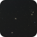 M96 and M 95 and surrounding Galaxies,                                Elmiko
