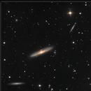 NGC 4216 & Virgo Cluster Galaxies, LRGB, 3-4 Mar 2020,                                David Dearden