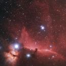 Horsehead and Flame Nebula,                                RichardBoudreau